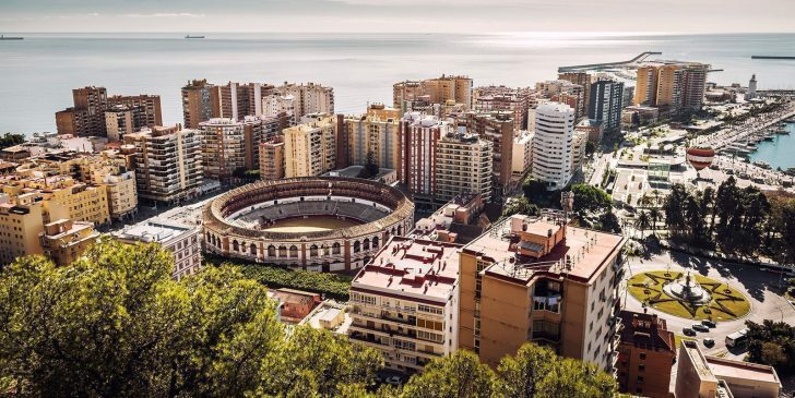 This is an image of malaga spain